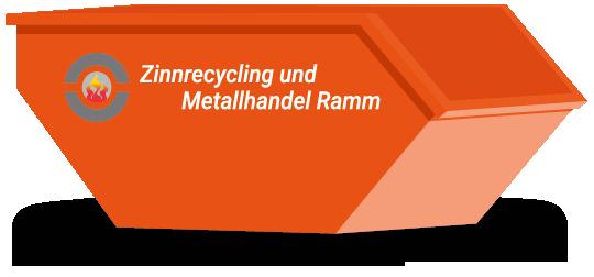 Container mit Logo