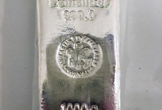 999er Rein-Silber
