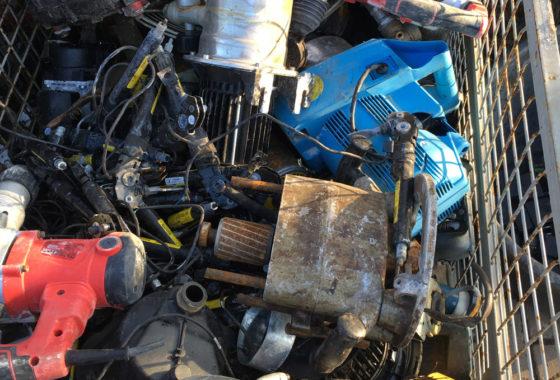 E-Motoren mit Anhaftung und E-Werkzeuge